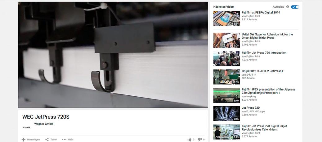 VIDEO: Unsere JetPress 720S